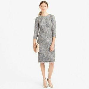 💙 NEW J CREW Classic Tweed Dress 12